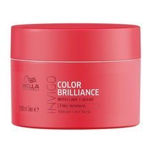 Wella INVIGO Brilliance maska do włosów cienkich i normalnych 150ml