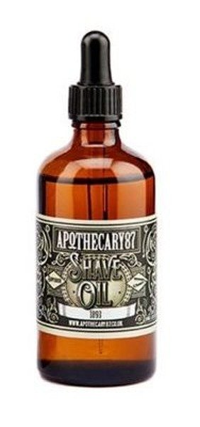 Apothecary 87 Shave Oil olejek do golenia 100ml