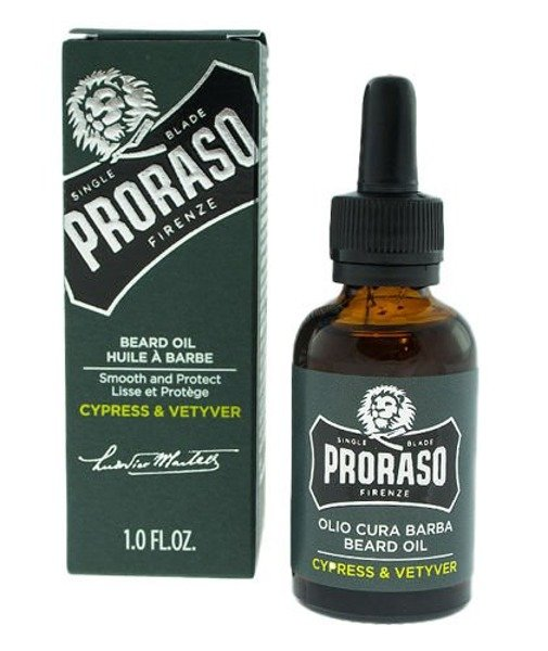 Proraso Olejek do brody Cypress & Vetyver 30ml