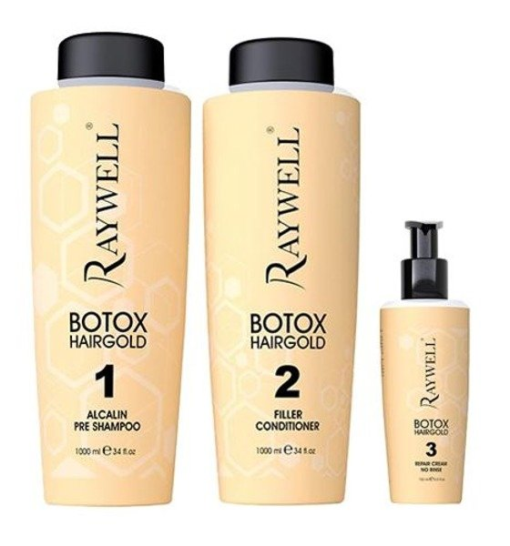 Raywell Botox Hair Gold Shampoo 1000ml