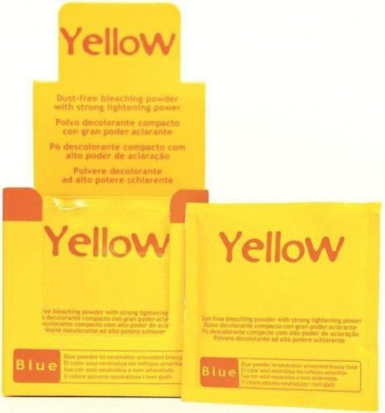 Saszetka Yellow Bleaching Powder 20 g