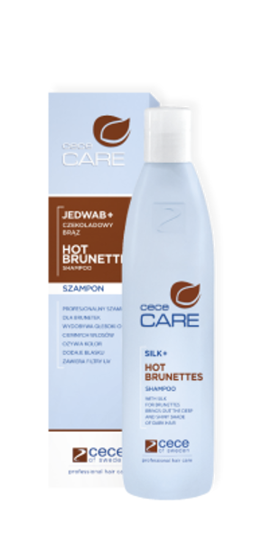 Szampon Hot Brunettes Silk+ Care 300 ml