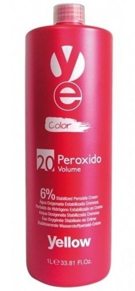 Yellow Peroxido Utleniacz w kremie 20 vol. 6% 1000ml